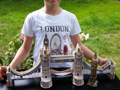 Berlin, Herder Gymnasium My Tower Bridge 3D-Puzzle is cool
