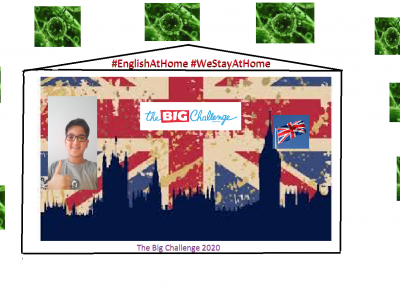 Berlin, Freiheer-vom-Stein Gymnasium  Das Bild ist komplett selbst editiert. Ich habe mir die Großbritannien-Flagge aus dem Internet geholt, genau wie die Bakterien und es einfach zu einem Corona freiem Land bearbeitet :)