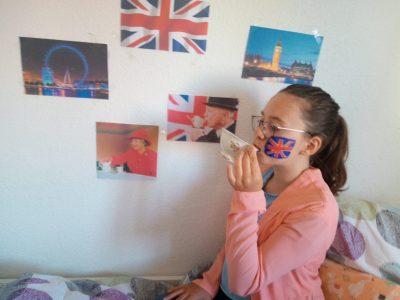 Haigerloch, Gymnasium Haigerloch Tee trinken mit der Queen