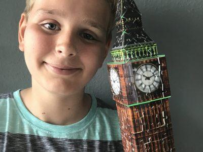 """Jonah Gaßmann, Heilbad Heiligenstadt, Staatliches Gymnasium Lingemann Jonah Gaßmann """"Größer als Big Ben"""""""