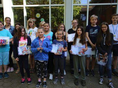 Realschule Hohenhameln Viele glückliche Gesichter bei den Gewinner von The Big Challenge und The Class Challenge. Der Termin fürs nächste Mal ist bereits notiert!