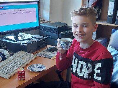 Spessart Gymnasium Alzenau  Work done, Tea Time!