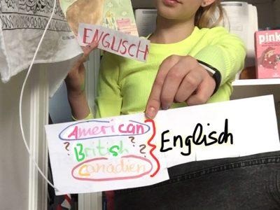 """Düsseldorf, Comenius-Gymnasium Für Carlotta ist Englisch """"British"""" - wie in der Schule, """"American"""" - wie in Medien und Filmen, und auch """"Canadien"""" - wie ihre Oma."""