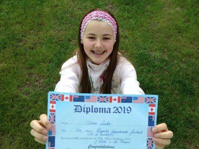 "Wiprecht-Gymnasium Groitzsch  Second winner of ""the BIG Challenge"" from last year"
