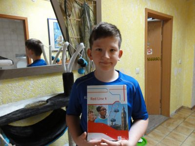 Ingolstadt  Ludwig-Fronhofer-Realschule. Me with the English Book