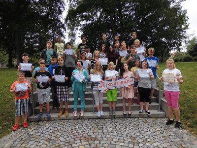 """Die Teilnehmer von """"The Big Challlenge 2017"""" von der GTS """"Rosa Luxemburg"""" aus Wittenberg!"""