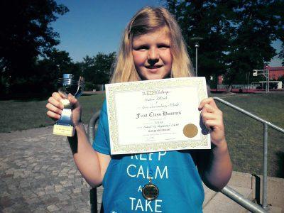 """Lutherstadt Wittenberg, GTS Sek. """"Rosa Luxemburg"""" Hélène Ettlich, Regional Platz 2 von 610 Schülern! Herzlichen Glückwunsch !!!!!"""