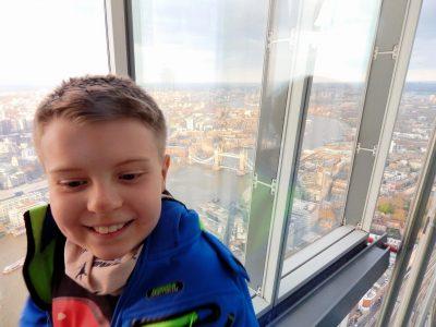 "Falkensee, Geschwister-Scholl-Grundschule  London 2019. Blick vom ""The Shard"""