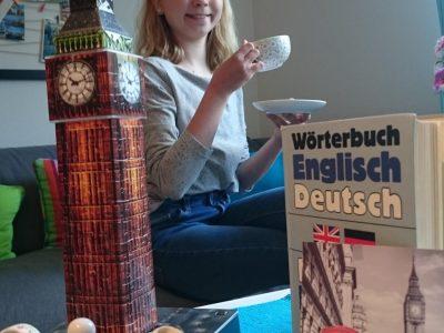 Rheine, Gymansium Dionysianum - English Tea Time im Schatten von Big Ben