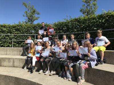 "The students of class 6c enjoyed the Big Challenge. Regionale Schule ""Am Grünen Berg"" Bergen auf Rügen"