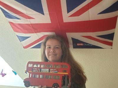 Stadt: Merseburg Schule: J.-G.Herdergymnasium  Mein London Bus aus Lego