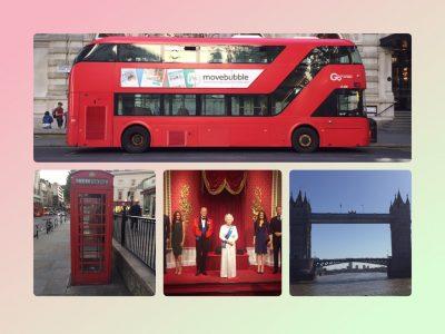 Hilden, Helmholz Gymnasium   Diese Bilder wurden persöhnlich in London aufgenommen. ( Die Queen ist eine Wachsfigur)
