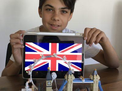 Asperg Friedrich List Gymnasium  London Lego mit Flagge