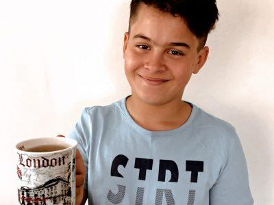 Gesamtschule Weilerswist, 53919 Weilerswist   Hier zeige ich Euch eine Tasse aus London. Die habe ich aus England mit gebracht, ich fand es sehr schön dort. Euer Vassilli
