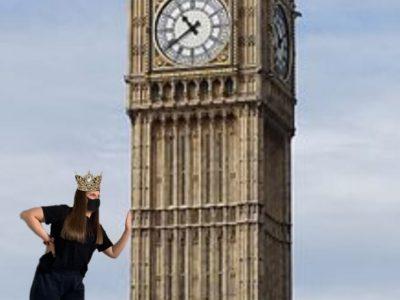 Plaidt, IGS Pellenz in Plaidt wir waren trotz Corona Einschränkungen in London beim Big Ben. Natürlich auch mit Maske:) #justforfun #lachtnicht #welovelondon