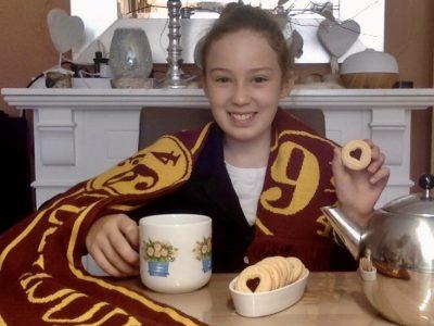 Heinsberg, Kreis Gymnasium Heinsberg  Tea, biscuits and Harry Potter. I love Great Britain!
