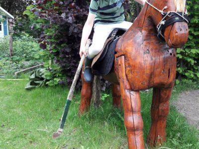 """Lilienthal, Gymnasium Lilienthal  """"Challenge Cup"""" on a wooden horse"""
