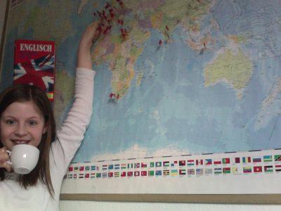 Hamburg  Luisengymnasium Bergedorf  Wenn ich nicht gerade für Englisch lerne, träume ich davon nach London zu reisen und dort eine Tasse Tee zu trinken.  Klara Brandt
