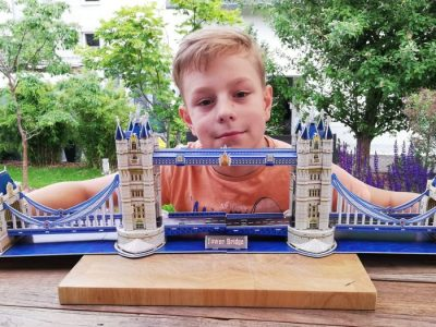 Hannover/Käthe-Kollwitz-Gymnasium  Meine selbstgebaute Tower-Bridge