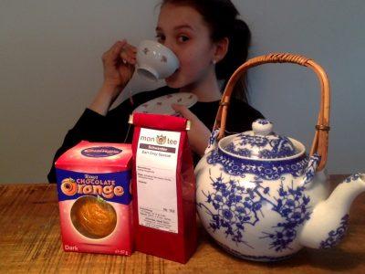 München      Ludwigs Gymnasium München  Tea Time with an original english chocolate orange