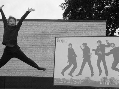 Krefeld, Gymnasium Fabritianum  Elias Schröder  The five Beatles in the sky (no Lucy and no diamonds, but still :-) )