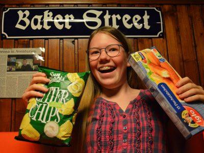 "Fish and Chips in der Baker Street - mehr ""Great Britain"" ging spontan nicht. Greta Kindermann (11), Mater Salvatoris Realschule, Kerpen"