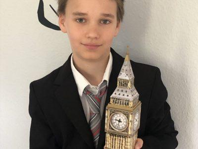 """Berlin-Grünauer Gemeinschaftsschule Ich habe den """"Big Ben"""" schon mal gepuzzelt und freue mich schon sehr, wenn ich das Wahrzeichen von London auch in echt mal sehen kann. So lange lerne ich weiterhin fleißig Englisch, damit ich mich dann auch allein verständigen kann."""