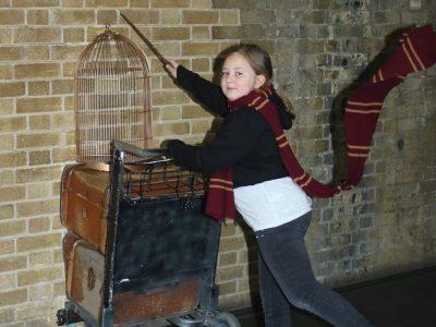 IGS Salmtal  In London zu Besuch bei Harry Potter auf dem Weg nach Hogwarts ;)