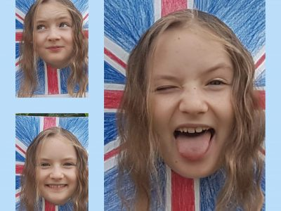 Hier ist mein Bild zu der Big Challenge.  Helen Sauer, Justin-Wagner Schule, 64380 Roßdorf  I`m a girl from Germany and I would like to have Great Britain in the EU!!!!