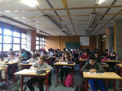 Gymnasium am Fredenberg, Klassen 6 und 7