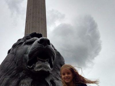 Wiesloch, Ottheinrich-Gymnasium  Das Bild wurde in London am Trafalgar Square aufgenommen!