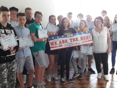 "GTS ""Anne Frank"" Hettstedt, Sachsen-Anhalt, Klasse 8a"