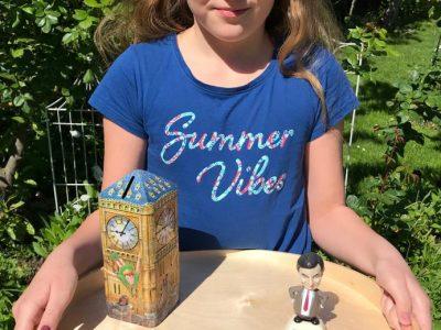 Krefeld, MSM Gymnasium Meine Eltern haben die Magnete und die Münze aus London mitgebracht. Die Big Ben -Spardose und die Mr.Bean-Solarwackelfigur hat mir meine Schwestern geschenkt.