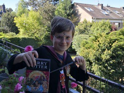 """Düsseldorf, Städtisches Comenius Gymnasium  """"Harry Potter! The best englishman ever!!!"""""""