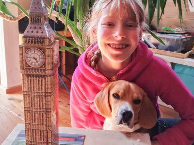 Hilpoltstein,Gymnasium Hilpoltstein  Der ,,Royal Beagle'' freut sich schon auf den nächsten Amerikaurlaub.