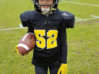 Berlin Rudolf Virchow Oberschule  I play american football in a club . American football is a full contact sport . American football is very popular in america .