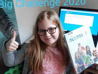Heinsberg, Kreisgymnasium  The BIG Challenge 2020 - dank Corona zuhause gemacht