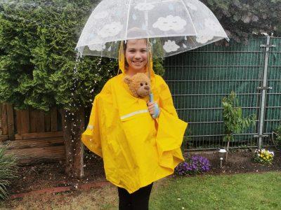 Willich Robert Schuman Europaschule  Regen in England mit Paddington