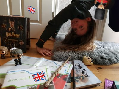 """Rastede KGS-Rastede  """"Learning by doing :-)  Greetings from Hermione from London bridge"""""""