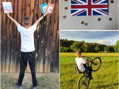Realschule Auerbach - Big Challenge check! Als Ausgleich zum Lernen fahre ich gerne Fahrrad und würde mich deshalb sehr über die Sportkamera freuen.