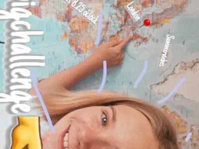 Calbe, Friedrich Schiller Gymnasium   Huhu ich bin Luisa ich habe mir für dieses Bild einfallen lassen mich vor meine Weltkarte zustellen und auf London zu zeigen. Ich hoffe sehr das es Ihnen Gefällt. Lg Luisa Göhring