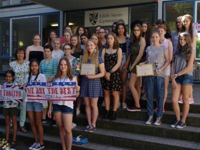 Edith-Stein-Gymnasium Speyer - wir sind stolz auf unsere diesjährigen Teilnehmer! :-)