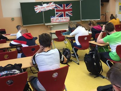"""These are some of our 188 students who take the """"Big Challenge"""" this year. Fingers crossed for best results ! (Albert-Schweitzer-Gymnasium Sömmerda)"""