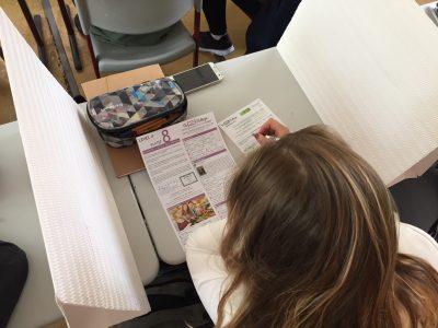 Busy students! (Albert-Schweitzer-Gymnasium Sömmerda)