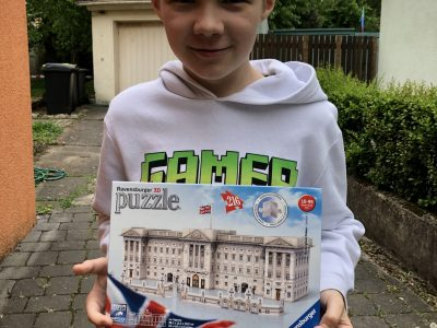 Bielefeld, Gymnasium Heepen, Moritz takes part in the Big Challenge
