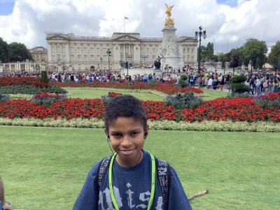 Stadt: Erfurt, Schule: Heinrich-Mann-Gymnasium Erfurt  London-Visit to Buckingham Palace
