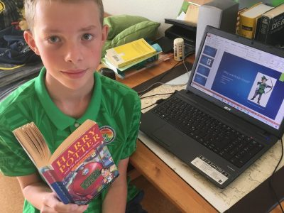 Ole Winkler, Sehnde I read my favourite book and create my englischpresentation about Robin Hood.