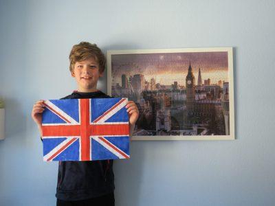 Hannes Veit, Uffenheim, Christian-von-Bomhard-Schule London ist jetzt fertig - Spaß hat`s gemacht!