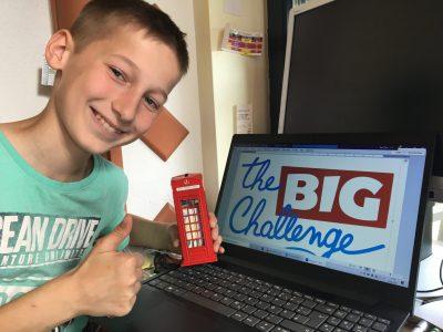 Frankfurt, Otto-Hahn-Schule  Mir hat der Big Challenge Wettbewerb gefallen und hoffe das es noch mehr von solchen Wettbewerben geben wird.