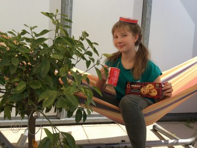 Stadt: Schwabach, Schule: Adam-Kraft-Gymnasium  Kommentar: Keep calm and carry on drinking an ice-tea and eating cookies!